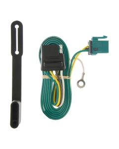 Curt 96-03 Chevrolet Express 2500 Custom Wiring Connector (4-Way Flat Output)