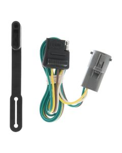 Curt 95-01 Mazda B4000 Custom Wiring Connector (4-Way Flat Output)