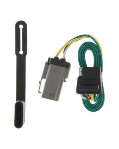 Curt 99-01 Ford F-350 Super Duty Custom Wiring Connector (4-Way Flat Output)