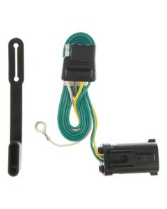 Curt 00-02 Ford Expedition Custom Wiring Connector (4-Way Flat Output)
