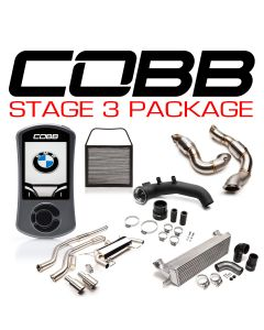 COBB Tuning BMW N54 Stage 3 3-Series Power Package