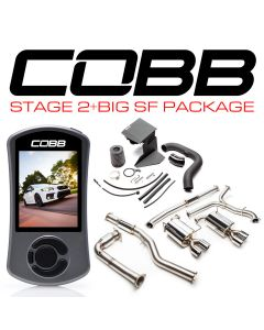 COBB Tuning Stage 2 + Big SF Power Package (Resondated J-Pipe)