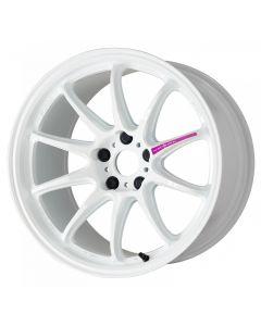 Work Wheels Emotion ZR10 15x5.0 +45 4x100  - Azure White (AZW) - Semi Concave