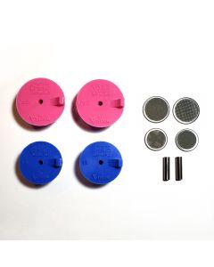 Silicon Purge Plugs , Tig Aesthetics by Ticon Header kit 1.5″- 1.88″