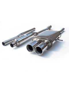 INVIDIA CAT-BACK EXHAUST, Q300 Stainless Steel Tip Cat-Back Exhaust Mini Cooper S 07-UP
