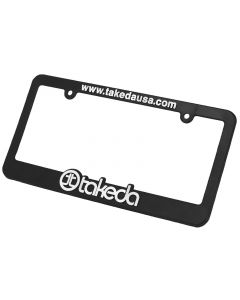 aFe Takeda Marketing Promotional PRM Takeda Licence Plate Frame