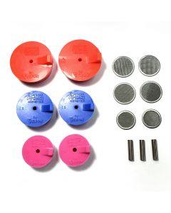 Silicon Purge Plugs, TIG Aesthetics by Ticon Turbo Manifold Kit 1.25″- 2″