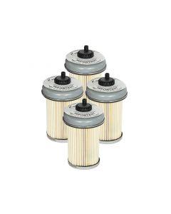 aFe ProGuard D2 Fluid Filters Fuel F/F FUEL GM Diesel Trucks 92-00 V8- 6.2L 6.5L (td) - 4 Pack
