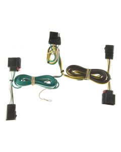 Curt 11-13 Dodge Durango Custom Wiring Harness (4-Way Flat Output)