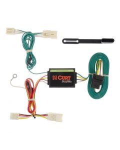 Curt 12-17 Kia Rio Custom Wiring Harness (4-Way Flat Output)