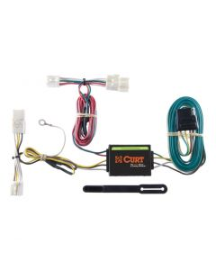 Curt 08-14 Scion xD Custom Wiring Harness (4-Way Flat Output)