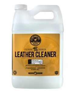 Chemical Guys Leather Cleaner OEM Approved Colorless Odorless Leather Cleaner (1 Gal)