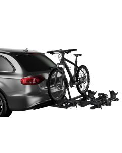Thule T2 Classic 2 Bike Rack Add-On (Allows 4 Bike Capacity/2in. Receivers Only) - Black