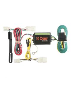 Curt 11-16 Hyundai Elantra Custom Wiring Harness (4-Way Flat Output)