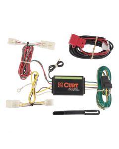 Curt 06-12 Toyota RAV4 Custom Wiring Harness (4-Way Flat Output)
